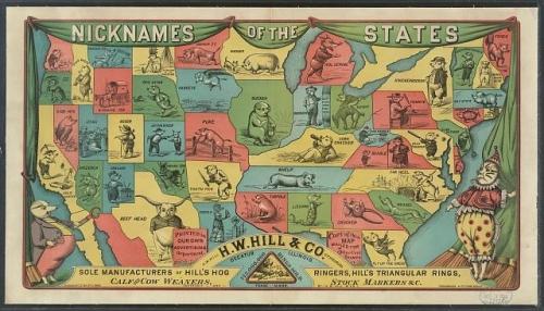 states map nicknames