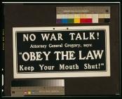 war talk WWI