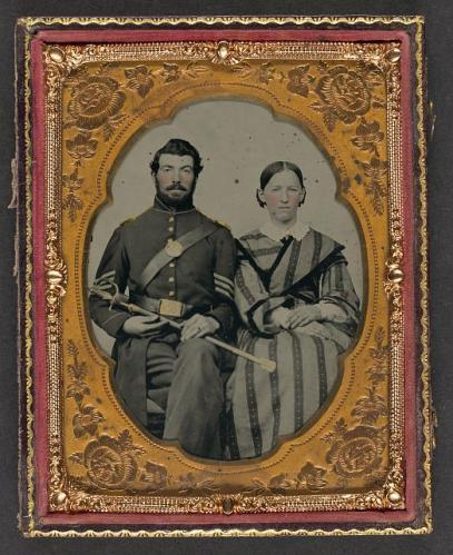 civil war couple