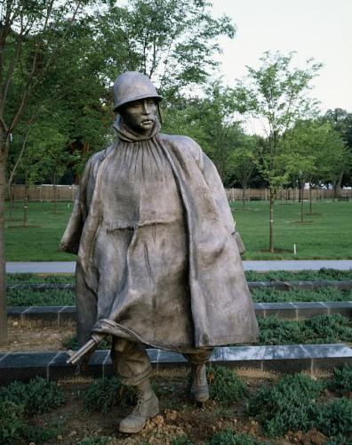 korean war steel soldier