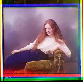 girl russian portrait