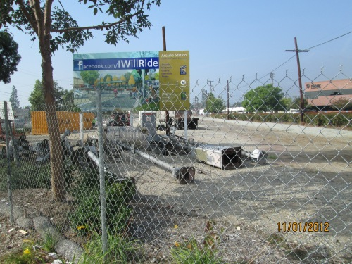 Arcadia metro station site 003