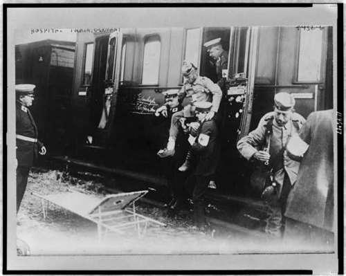 1914-16 ger. hospital train