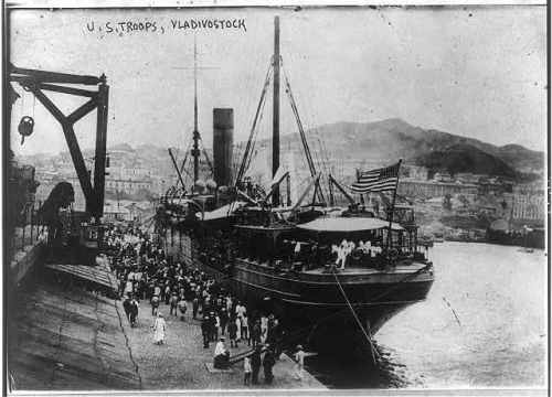 1918 troop ship