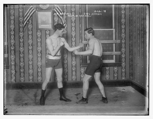 fighter driscoll and eddie johnson