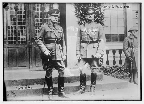 Haig and Pershing