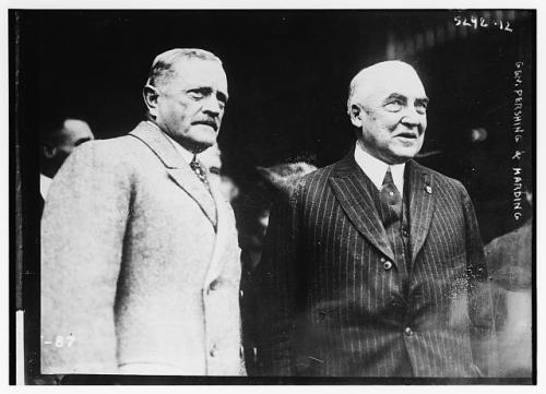 Pershing and Harding