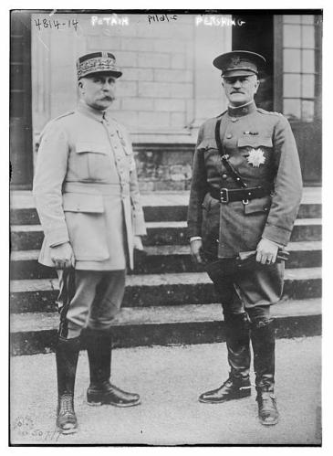 Pershing and Petain