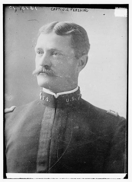 Pershing captain j.j.