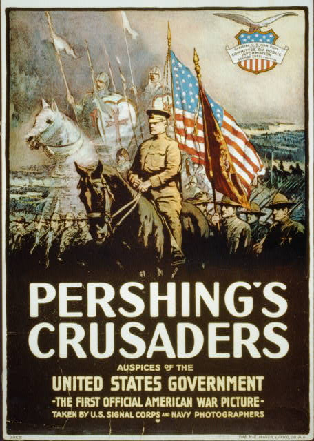pershings crusaders poster