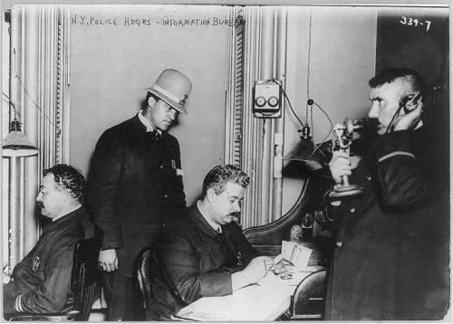 police N.Y 1908