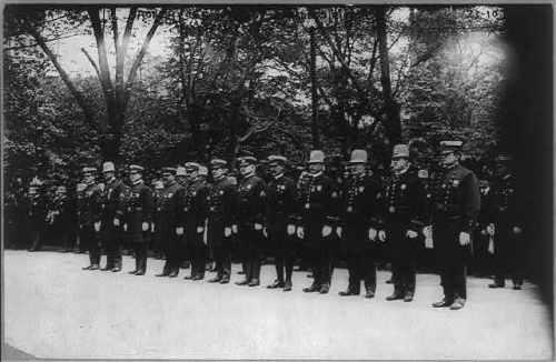police ny 1908