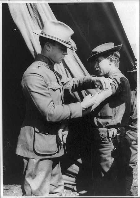 soldier vaccination 1911