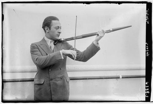 violin heifetz