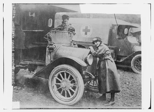 WWI ambulance british