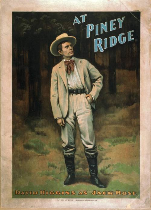 cowboy at piney ridge 1897