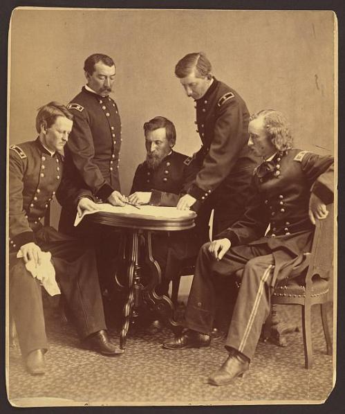 gen sheridan and his generals