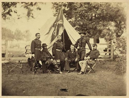 gen sheridan and tent