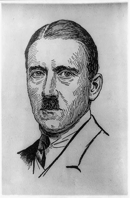 hitler sketch 1923
