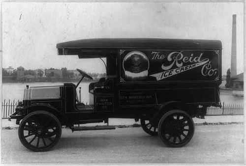 ice cream truck 1918