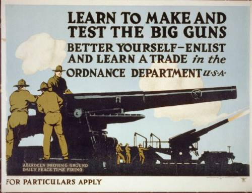 ordinance recruitment poster