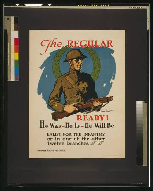 recruitment poster ww1