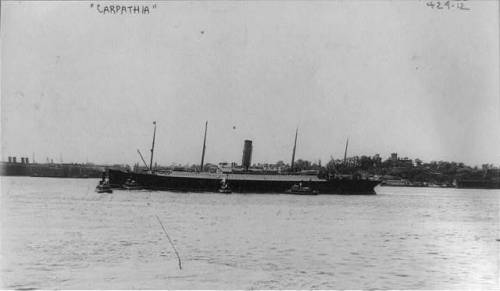 ship carpathia 1912