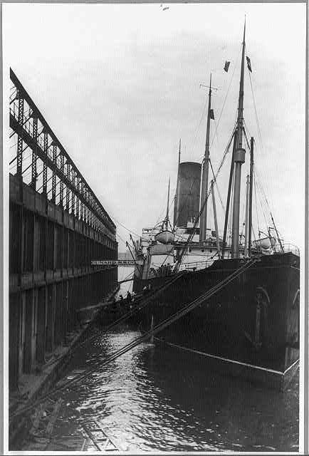ship Carpathia in N.Y.
