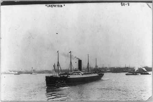 ship carpathia