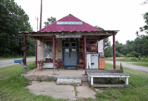 Old store in rural North Carolina