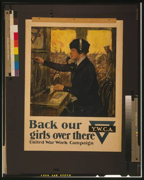 WWI women poster YWCA