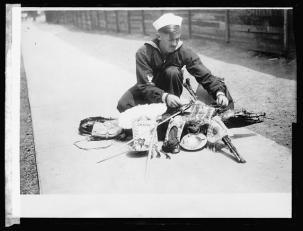 boatswains mate USS Arizona 1919