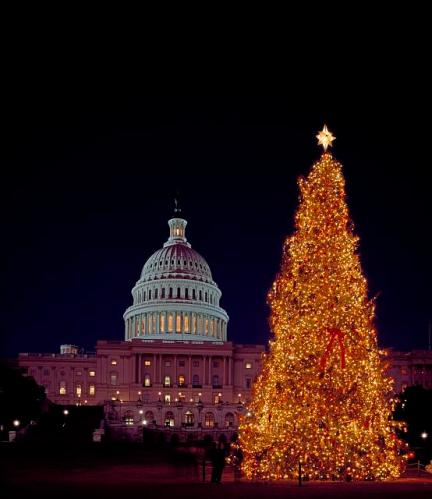 christmas tree us capitol 1946