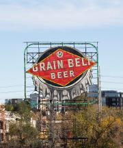 grain belt beer sign minneapolis