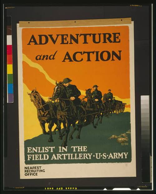 poster army artillery