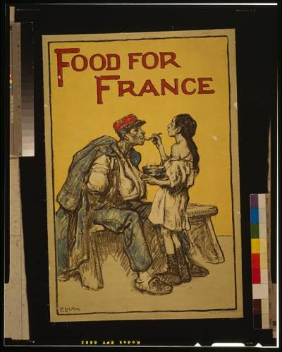 poster food for france