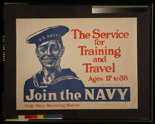 poster join the navy