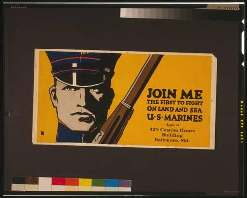 poster marine