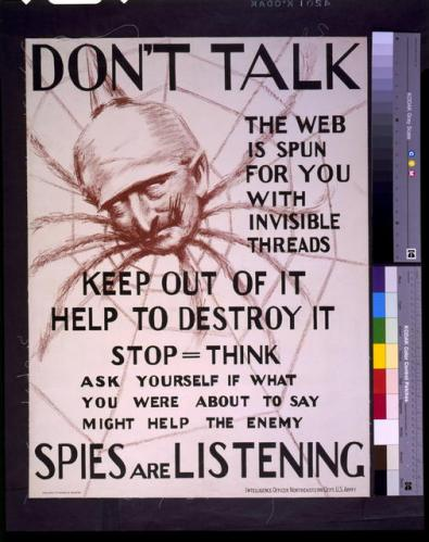 POSTER spies are listening