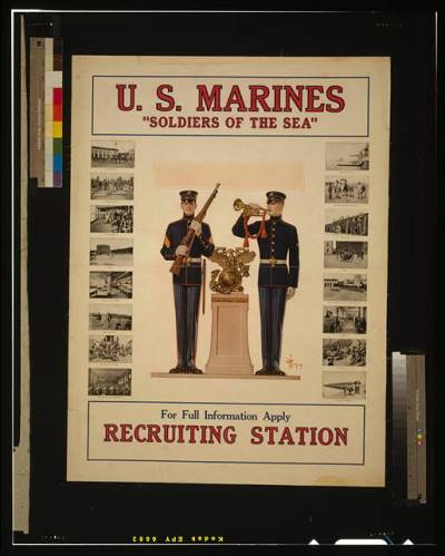 poster us marines