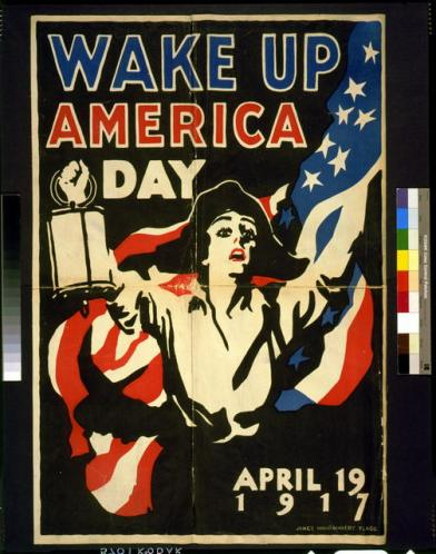 poster wake up amer. day