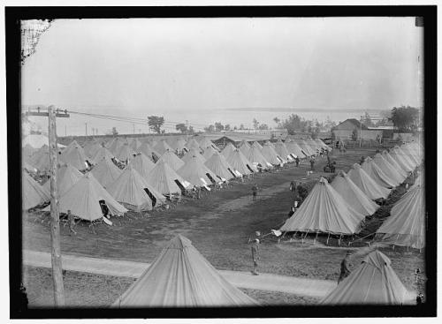 tents 1915