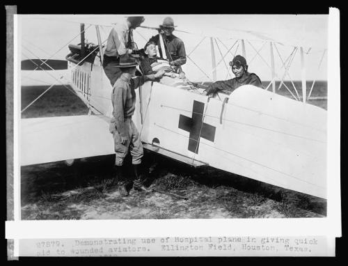 WWI air ambulance