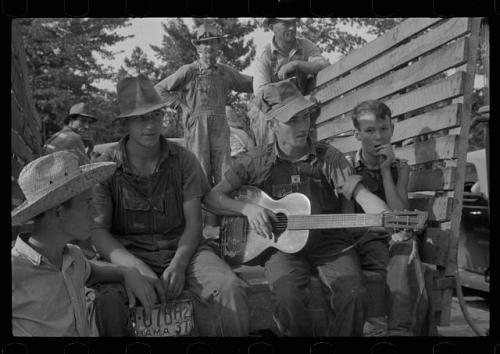 hillbilly musician