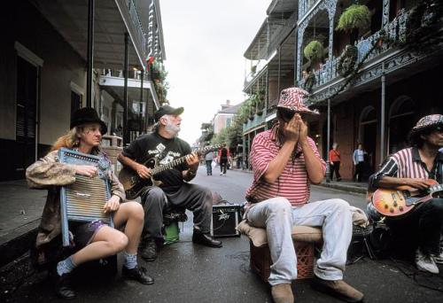music bourbon street