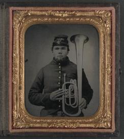 sax horn civ war