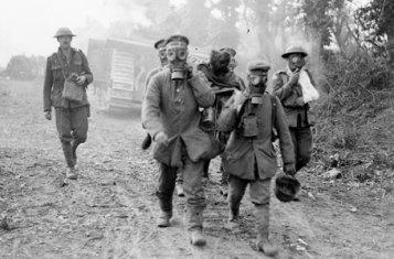 WWI gas masks