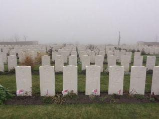 WWI graveyard