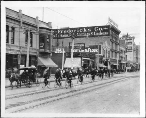 bicycle police LA 1904