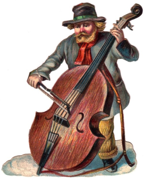 cello man player